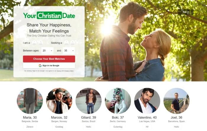 Your Christian Date Review